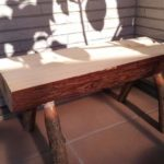 ◎木育講座④~丸太から椅子つく