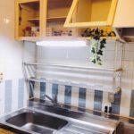 ◆キッチン収納扉入替Befor