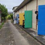 【DIY】外部の扉塗装